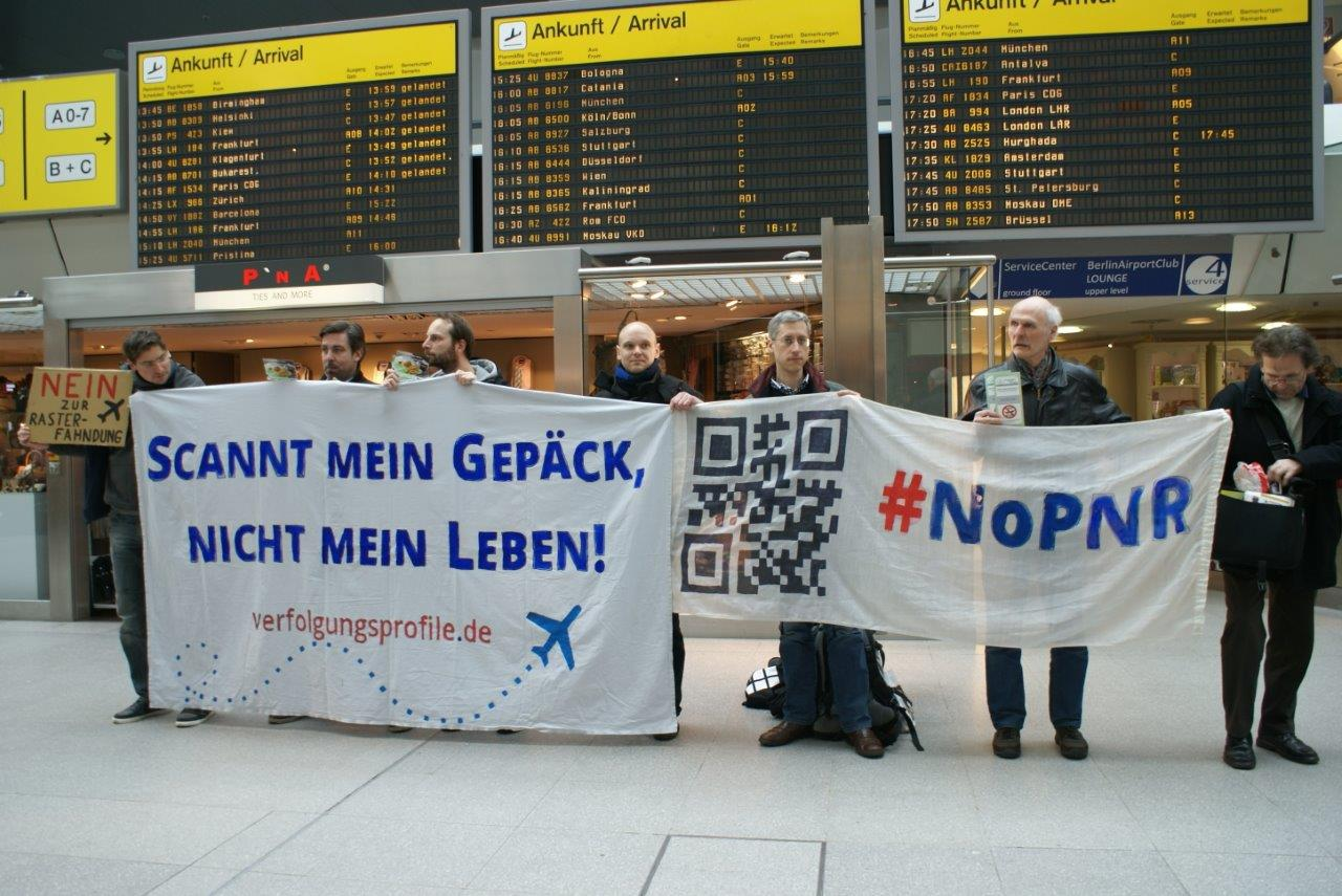 NoPNR Demo Tegel