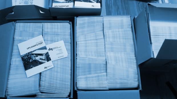 260 Umschläge für den Bundestag